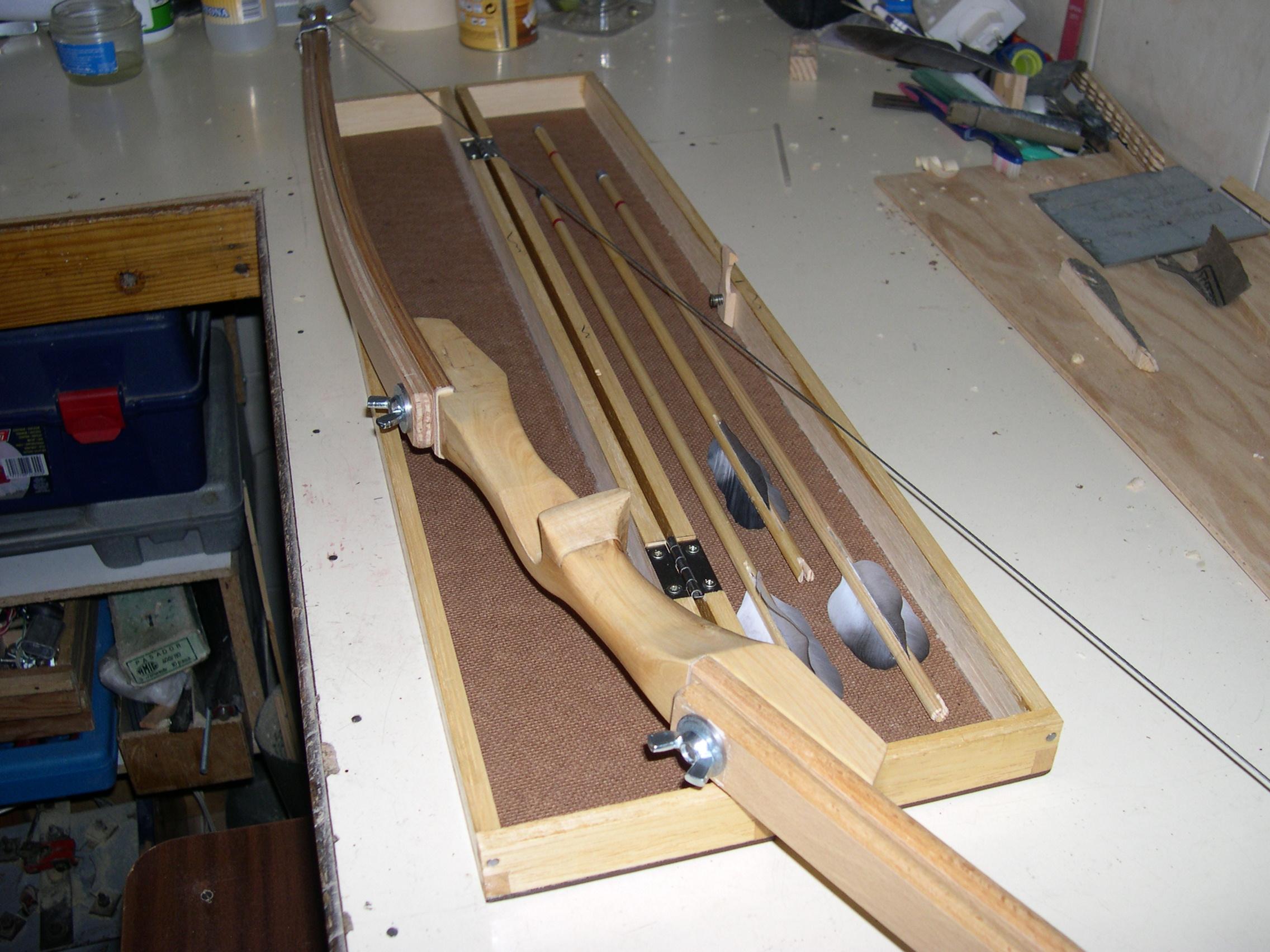 Arco casero con listones de cama taringa for Bar casero de madera